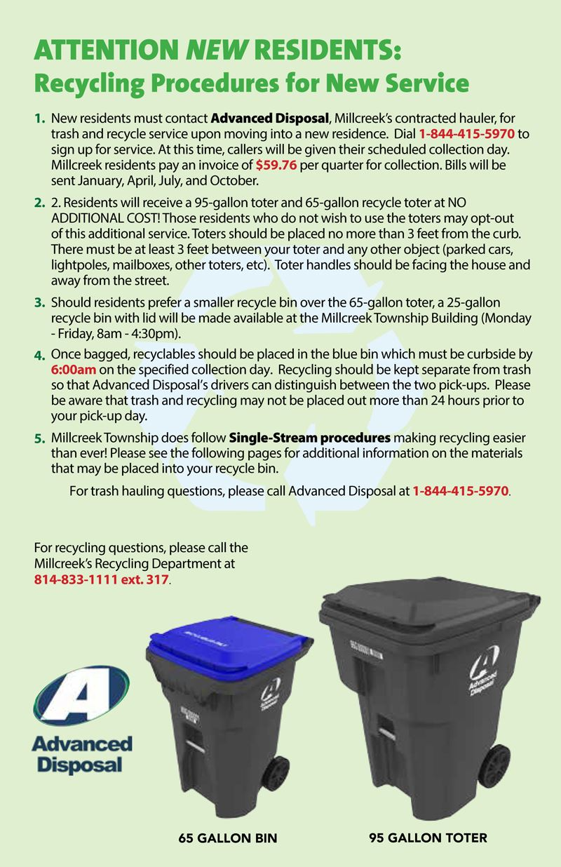 Millcreek Recycling Brochure for New Residents - Page 2