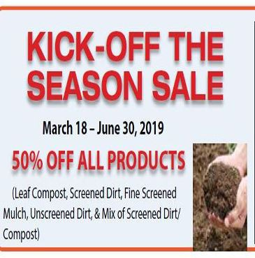 KICK OFF THE SEASON SALE